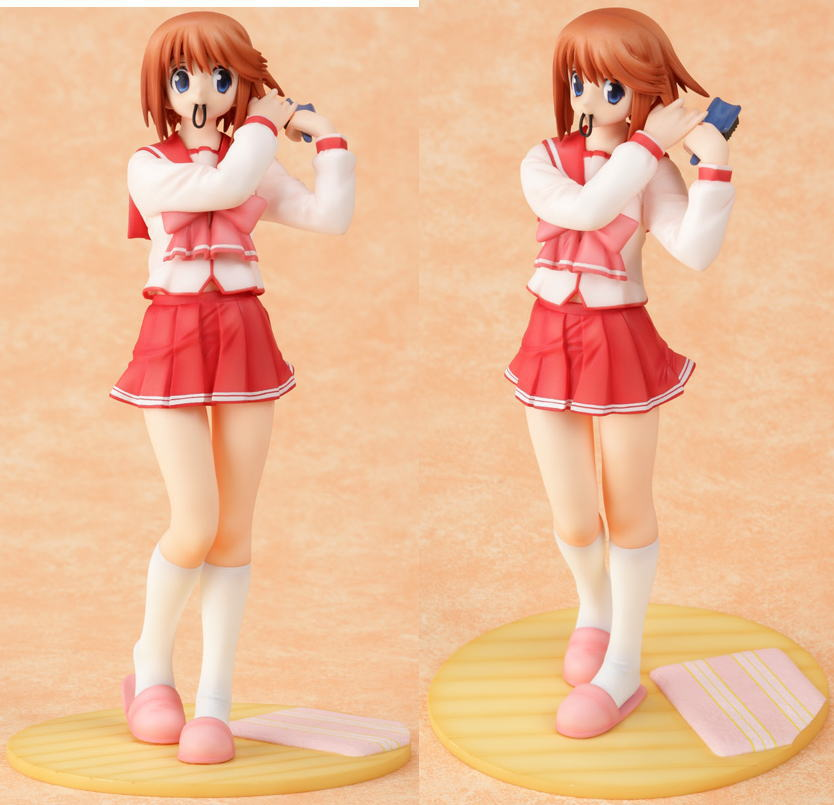 This is the Goodsmile Manaka, I'd have either the Kotobukiya or the Goodsmile, but the GSC is more easily available, and she would pair nicely with my Lucy...