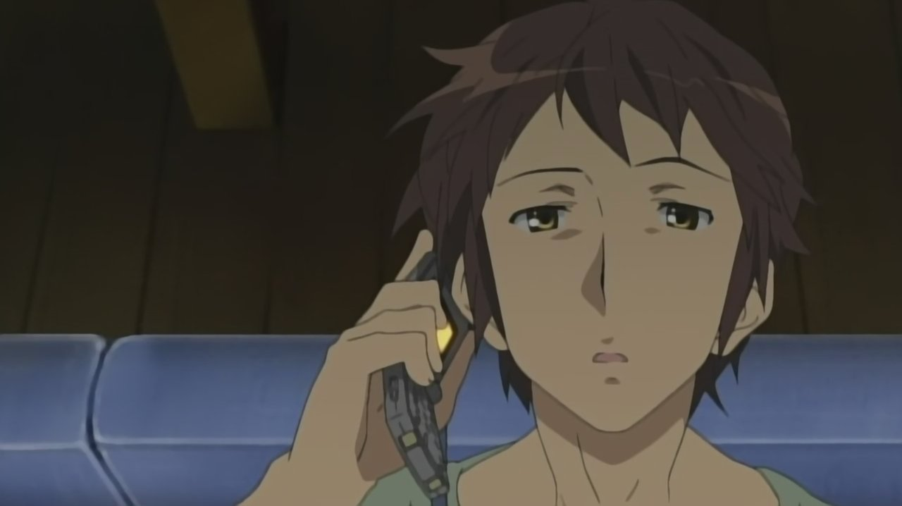Dammit Kyon! Stop looking dazy and hot and figure it out already!!!