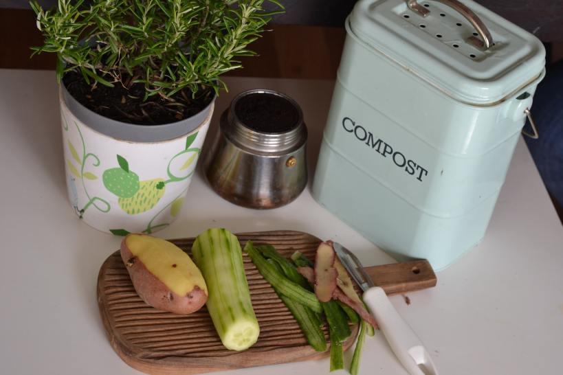 Kompostieren ist umweltfreundlich