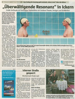 Ruhr Nachrichten Artikel Überwältigende Resonanz