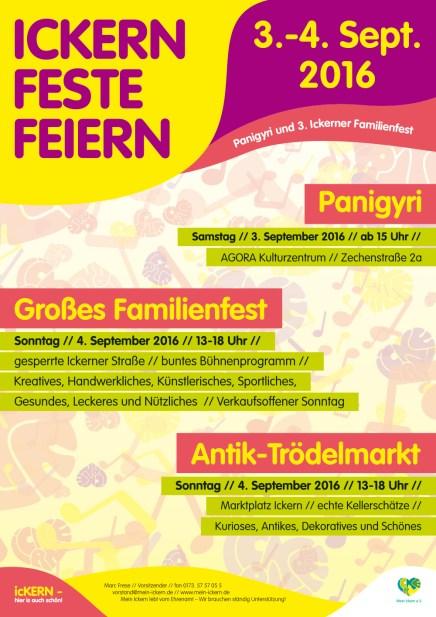ICKERN FESTE FEIERN 2016