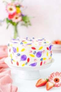 Erdbeer-Joghurt-Torte