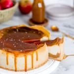 Apfel-Kaesekuchen
