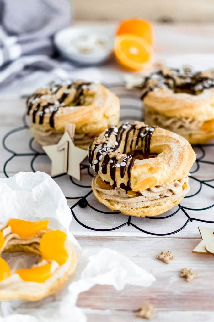 Windbeutel-Donuts