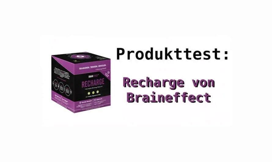 Recharge von BRAINEFFECT