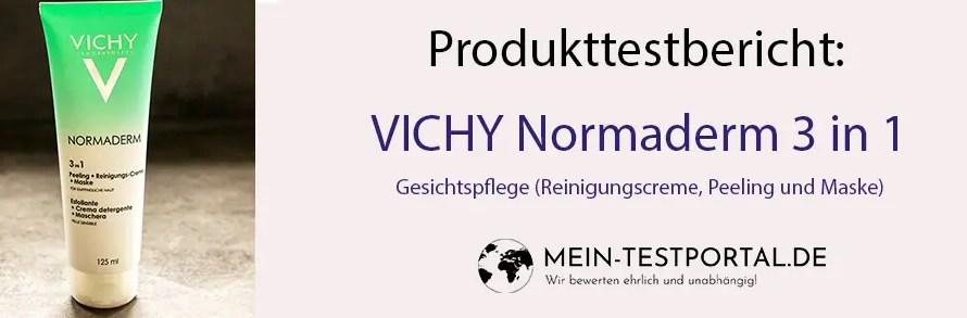 VICHY NORMADERM – 3 in 1 Gesichtspflege