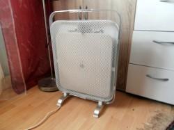 transportable Wärmewellenheizung mit Griff