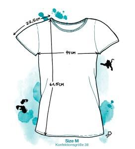 meindaruma – Shirtskizze Size M