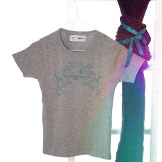 Shirt mit Tiger-Aufdruck, Farbe: grey