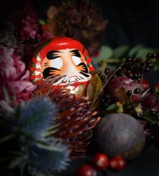 DARUMA - japanischer Glücksbringer