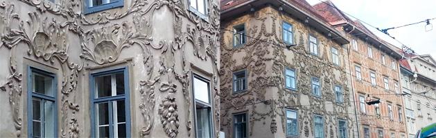 Graz_Häuserreihe