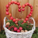 Zieräpfel & Moos – drei Dekoideen