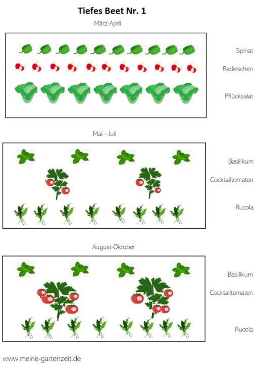 Hochbeet Planung 2020 - Ideen zur Bepflanzung