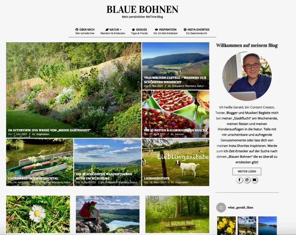 Meine Gartenzeit im Interview mit Blaue Bohnen
