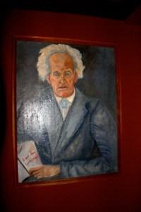 Hiddensee Hauptmann-Portrait