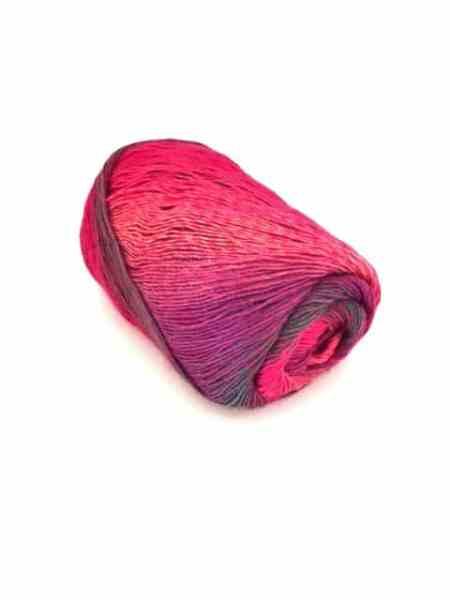 sokker 0050 pink dunkel Farbverlauf