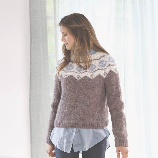 Boerstet Alpakka Pullover 1