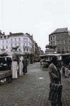 Markt in Abattoir in Brussel Bruessel Anderlecht