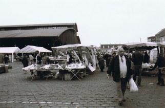 Markt in Abattoir in Brussel Bruessel_Anderlecht_Markthalle