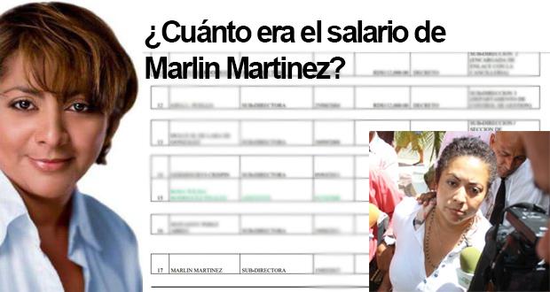 Sueldo de Marlín Martinez