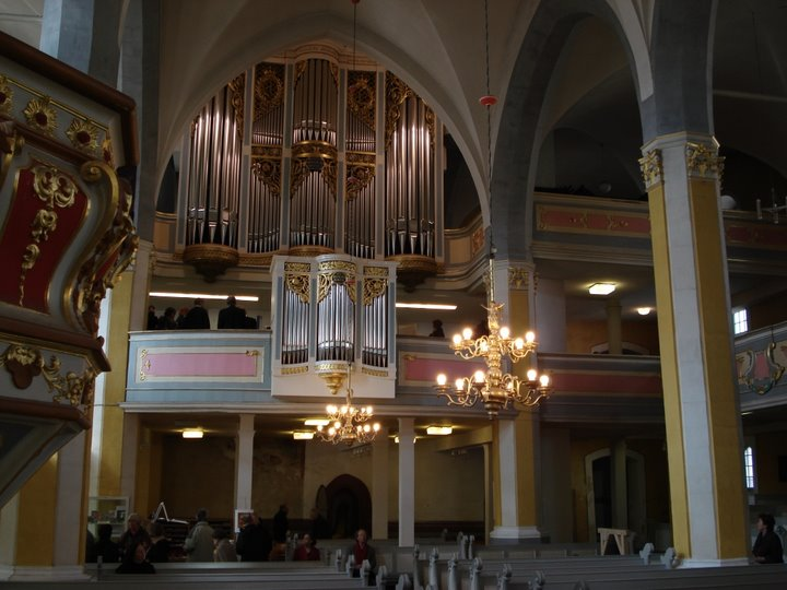 Die Sauer-Orgel in der Herder Kirche Weimar