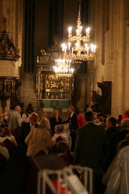 Besucheransturm in St.Marien zur Orgelnacht mit Daniel Roth