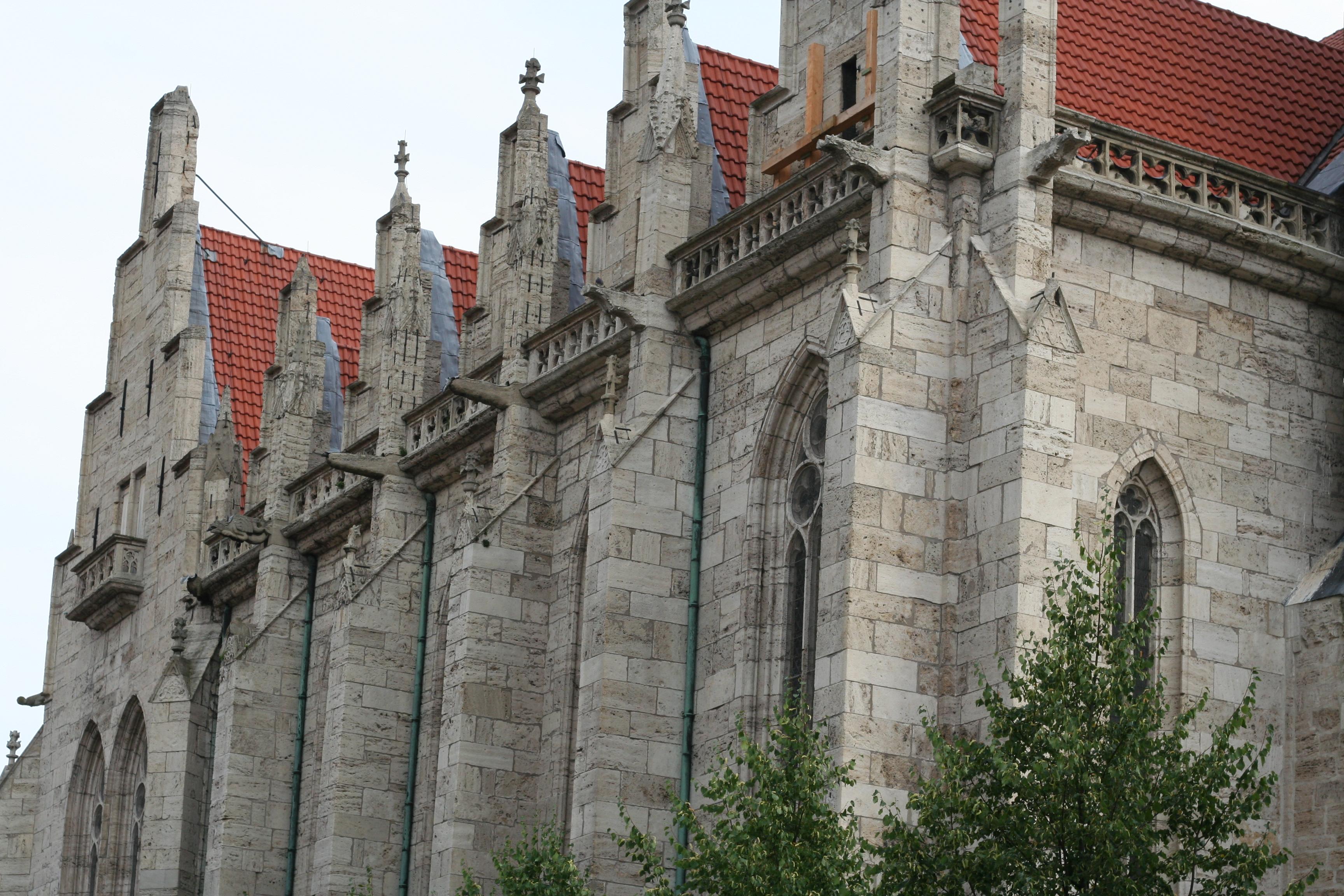 Hauptkirche von Mühlhausen, St. Marienkirche