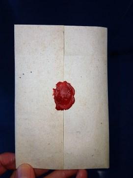 Mein 1. gesiegelter Brief!