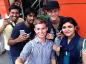 Unsere Freunde aus Bangladesh
