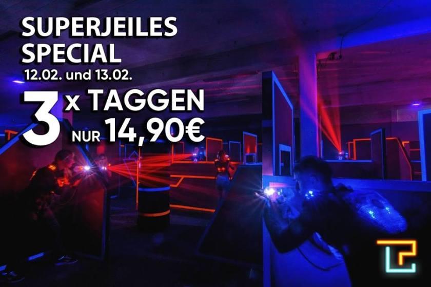 Laserplex Düsseldor Angebot zu Karneval meinlasertag