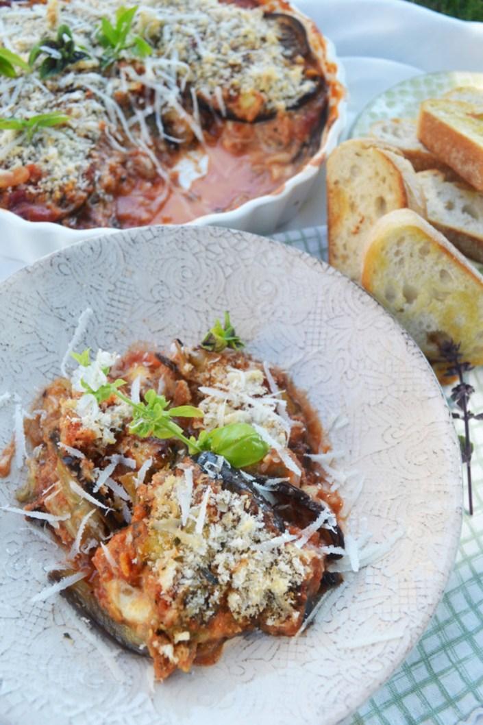 Essen für die Seele! Parmigiana di melanzane