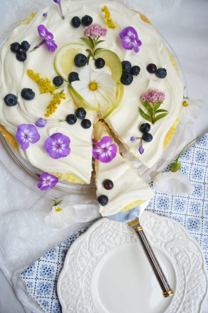 Fruchtig, leichter Tortenzauber! Zitronen-Charlotte