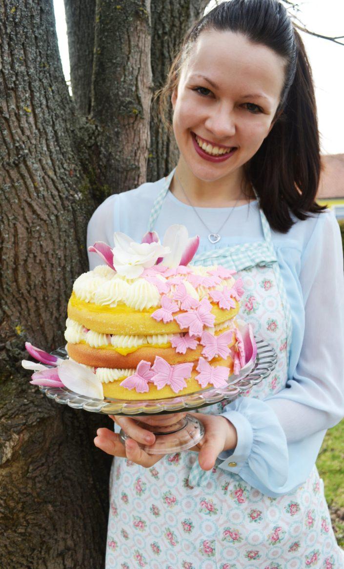 Einladung zum Naschen! Süße Frühlingstorte