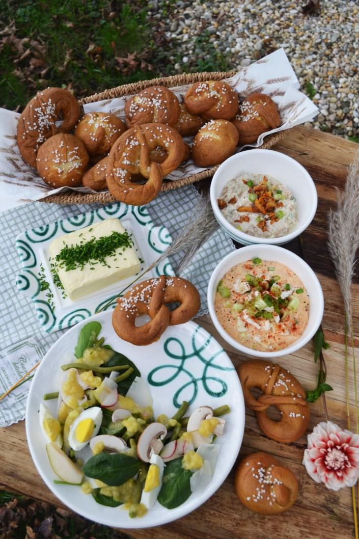 Selbstgemachte Oktoberfest-Leckereien! Von Ziegenkäse-Obazdn, Laugengebäck bis zur Radieschensuppe