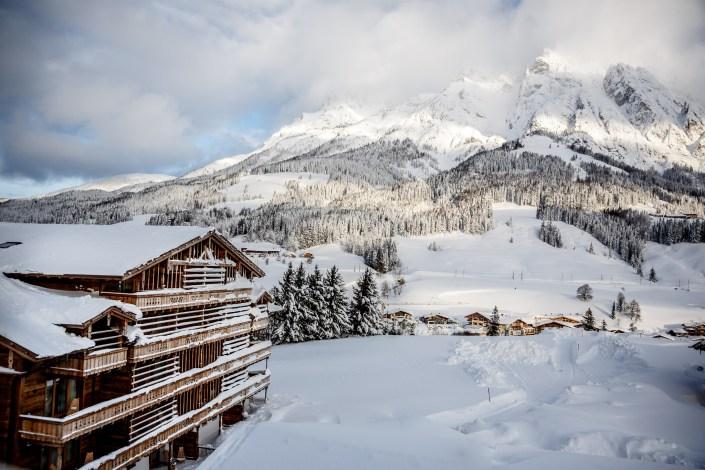 KUSCHLIG KULINARISCHE WINTERAUSZEIT IM 'PURADIES' - im verschneiten Leogang/Salzburg