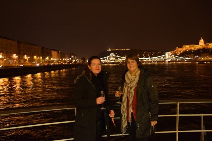 Tilghman and I on the Danube River Cruise.