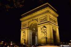 The arch de triumphe