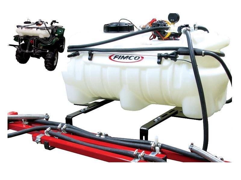 ATV Sprühgerät 94 Liter Sprüher mit 12 Volt Pumpe und Sprüharmen