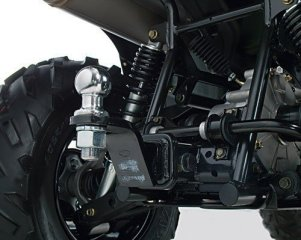 Kymco MXU 500 IRS LoF - ATV mit Anbau Kehrmaschine