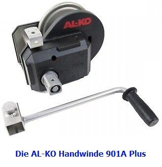 ALKO Seilwinde Handwinde Typ 901A Plus 900kg