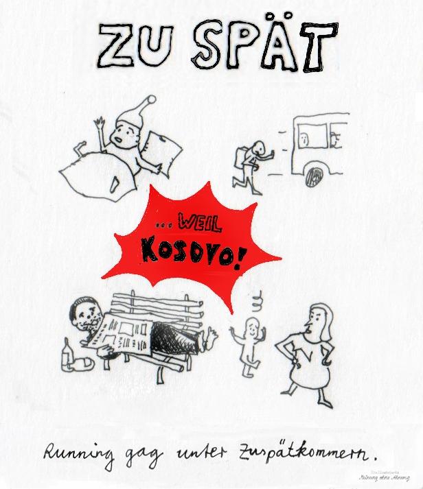 Minuten-Elster Kosovo 2018 Meinung ohne Ahnung
