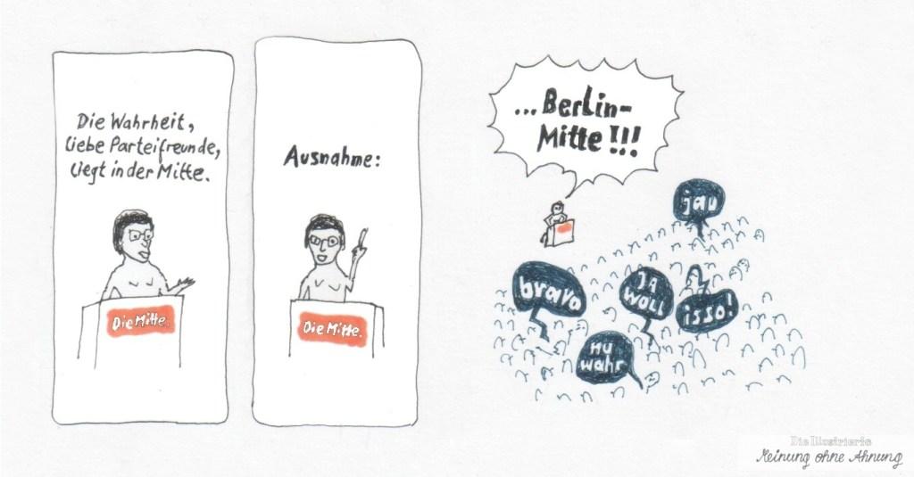 Ausnahme Berlin Mitte 2018 Meinung ohne Ahnung