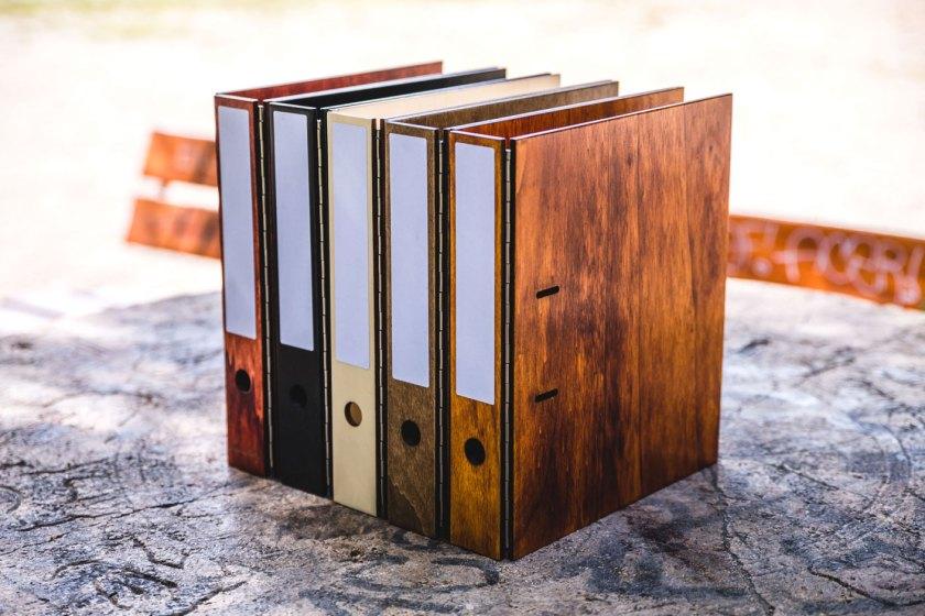 Nimmerholz – der handgemachte Ordner aus Holz
