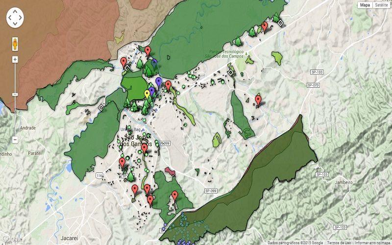 Engenheiro cria Mapa Ambiental