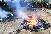 crime queimar sujeira no meu quintal