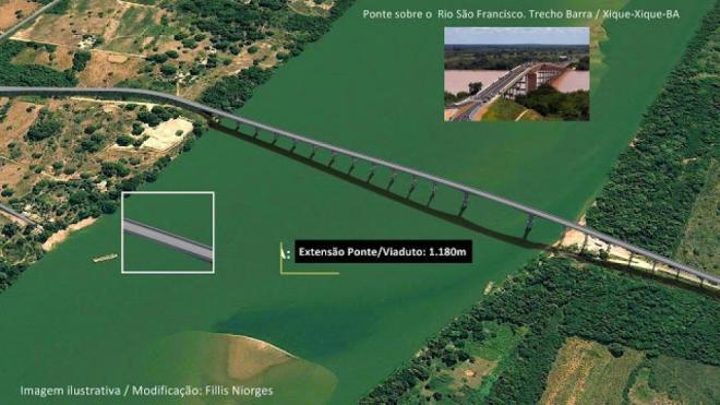 Financiamento é aprovado para construção da ponte Xique-Xique/Barra