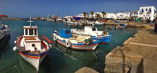 Die Stadt Naousa – Insel Paros