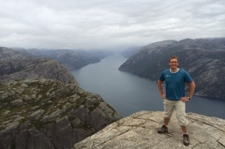 Preikestolen – 604 m über dem Meer