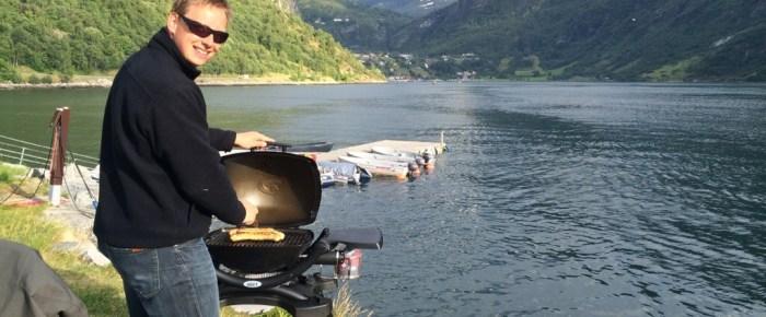 Ein schöner Abend am Geiranger Fjord