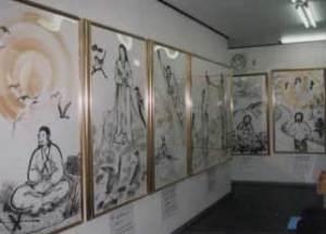 日本の神話伝承館内